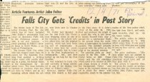 Image of NSHS Archives: RG4121.AM.S9.SS7.F2 Falls City Gets Credits in Post Story-
