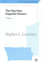 Image of 11580-18 - Sheet Music, the Hap-Hap-Happiest Season; Words & Music by Stephen L. Lawrence, Omaha