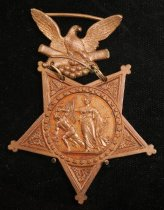 Image of 3195-3 - Medal; Medal of Honor, 1865, Victor Vifquain