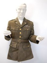 Image of 8608-8 - Jacket, Service, Od; Army Air, Lt. Beggs
