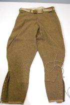 Image of 4970-2 - Pants, Service, USA; W/ Belt