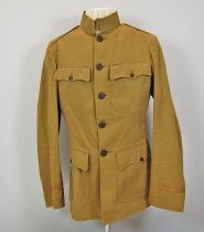 Image of 7737-73 - Jacket, U.S. Army, Service, World War I Era, 2nd Lt. Perry W. Branch