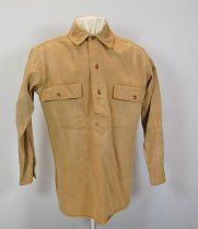 Image of 7737-75 - Shirt, U.S. Army, Service, World War I Era, 2nd Lt. Perry W. Branch