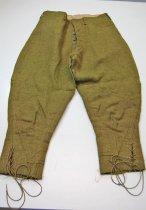 Image of 7743-2 - Pants, U.S. Army, Service, World War I, Cpl. Charles D. Lafferty