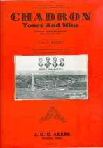 Image of 11055-2491 - Sheet Music, Chadron, Yours and Mine; J.G.C. Akers- Words & Music, Geo. E. Costley-Band Arrangment