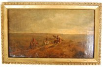 Image of 798P-3 - Painting, Lone Indian Trail; Charles E. Moss