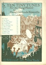 Image of 9722-42 - Sheet Music, Hunting Song; Hazel Gertrude Kinscella