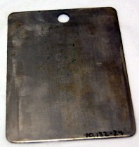 Image of 10122-24 - Mirror, Metal; WWI, Goes W/-23