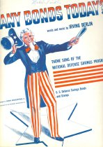 Image of 11239-1 - Sheet Music, Any Bonds Today; 1941, Irving Berlin