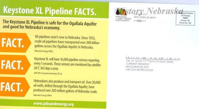 11011-51-(2) - Flier, Pro Keystone XL Pipeline, Separating Facts