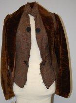 Image of 7213-129 - Jacket; Brown, Paisley
