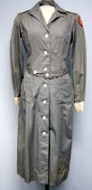 Image of 9502-15-(1-4) - Dress, Red Cross, World War II, Harriet Harbeck Diers