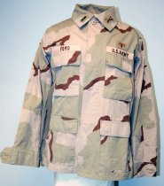 Image of 13225-1 - Jacket, U.S. Army, Three-color Desert Camouflage