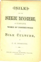 Image of 7294-5391 - Book, Silk and the Silk Worm