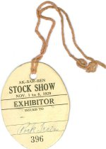 Image of 9654-125 - Tag, ID, Stock Show Exhibitor
