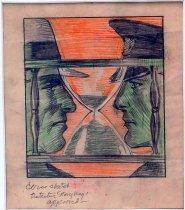 Image of 10645-4546 - Drawing; John Falter; Colored Pencil