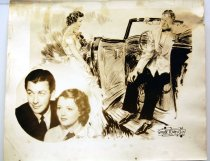 """Image of 11099-3 - Photo, Robert Taylor & Janet Gaynor; """"Small Town Girl"""" Movie Promotional"""