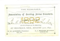 Image of 238-66 - Invitation, Trotting Horse Breeders