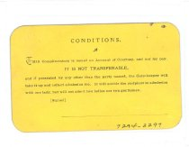 Image of 7294-2297 - Ticket, Nebraska State Poultry Association