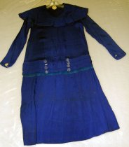 Image of 7391-4 - Dress; W/Clear Buttons