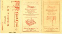 Image of 7575-688 - Booklet, Advertising; Queen Incubator Co., Lincoln, Nebr. Butter & Egg Record, 1911