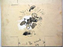 Image of 12523-1 - Cartoon; Herbert Johnson; Donald Duck