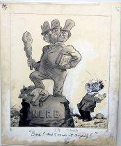 "Image of 12523-11 - Cartoon; Herbert Johnson; ""Gosh and I Made It Myself"""