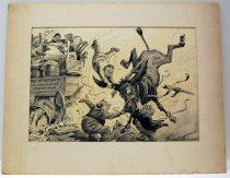 """Image of 12523-40 - Cartoon; Herbert Johnson; """"And Here It Is Moving Day"""""""