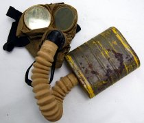 Image of 13227-3 - Mask, Gas, Military, USA, WWI