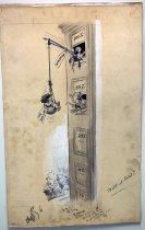 "Image of 12523-103 - Cartoon; Herbert Johnson; ""Will It Hold"""