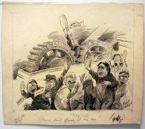 "Image of 12523-112 - Cartoon; Herbert Johnson; ""Please Dont Blame It on Me"""