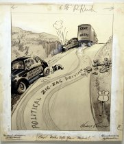 "Image of 12523-126 - Cartoon; Herbert Johnson; ""Hey Make up Your Mind"""