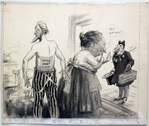 "Image of 12523-78 - Cartoon; Herbert Johnson; ""Letting Him Down Easy"""