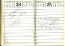 Image of RG4121.AM.S2.F2 DIARY 26