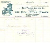 Image of 4948-162-(27) - Receipt, the Ideal Steam Cooker; For 3 Dozen Racks, 1901/04/15