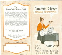 Image of 7575-689 - Booklet; Domestic Science, Fireless Cookstoves