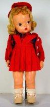 Image of 13244-8-(1-10) - Doll, Terri Lee, Blonde, Red Jumper
