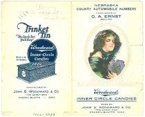 Image of 7956-2953 - Flyer; Nebraska County Automobile Numbers