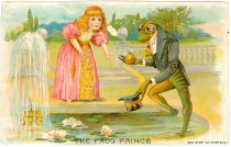 Image of 8196-196-(119) - Card, Trade; Lion Coffee