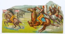 Image of 9805-2003 - Trade Card, Lion Coffee; Indians on the War-Path