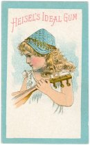 Image of 9977-214 - Card, Trade; Heisel's Ideal Gum