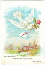 Image of 13000-4193 - Card, Advertising, Purity Extract Co., Lincoln