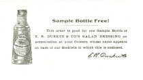 Image of 9805-990-(2) - Coupon, Durkees Salad Dressing;