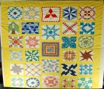 Image of 13057-2 - Top, Quilt; Sampler
