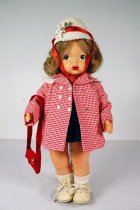 Image of 13244-48-(1-11) - Doll, Terri Lee, Spring Coat and Two-piece Jumper and Blouse