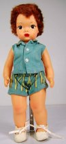 Image of 13244-63-(1-5) - Doll, Jerri Lee, Shorts and Sleeveless Shirt