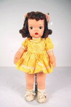 Image of 13244-23-(1-12) - Doll, Terri Lee, Painted, Yellow Dress and Petticoat