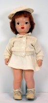 Image of 13244-74-(1-9) - Doll, Terri Lee, Red Hair, White Boucle Suit