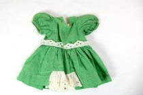 Image of 13244-321 - Tiny Terri, Green Dress, Cotton