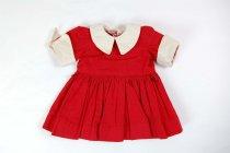 Image of 13244-322 - Tiny Terri, Red Dress, Cotton
